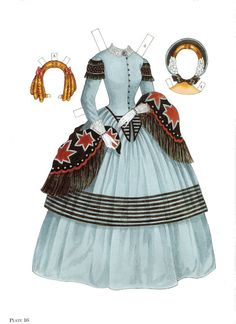 Paper Dolls~Godey's Early Victorian Fashions - Bonnie Jones - Picasa Webalbum