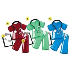 Great for a nursing major graduation or nurse pinning ceremony! Scrubs with Clipboard Ornament Nursing Pins, Nursing Major, White Coat Ceremony, Pinning Ceremony, Old World Christmas Ornaments, Medical Scrubs, Personalized Ornaments, Ball Ornaments