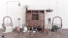 Andrei Mikhalenko comparte el segundo volumen de su colección de modelos 3D que incluye una serie de objetos decorativos, como triciclos, asientos, lámparas y jarrones.