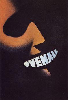"""Ovenall"" [Italian Toth Past Poster], - Graphic Photo Design by Federico Seneca (b. 1891 - d. Vintage Advertising Posters, Vintage Advertisements, Vintage Posters, Retro Posters, Film Posters, Diesel Punk, Vintage Labels, Vintage Ads, Seneca"