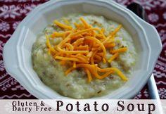 Gluten Free Dairy Free Potato Soup