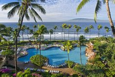 Hyatt Regency Maui Resort and Spa - our view each time we stayed there!  gm