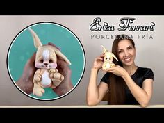🐶 Erica Ferrari Porcelana Fría | Conejo de Pascua | Easter Bunny | Clase Gratis | DIY | Tutorial - YouTube Polymer Clay Dolls, Polymer Clay Creations, Polymer Clay Crafts, Ferrari, Youtube Dolls, Traditional Japanese Tattoos, Clay Figurine, Cute Clay, Doll Tutorial