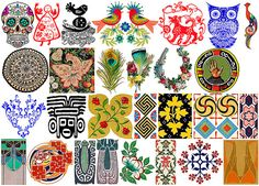 Ceramic decal, folklore motifs, 28 images. For sale at the Etsy shop of Stained Glass Elements. Keramische transfers, folklore, ornamenten, motieven, patronen, keramische decals, 760-850 ºC, decals keramiek, decals glas, decals emaille