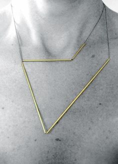 Myers Collective   Line/09 necklace