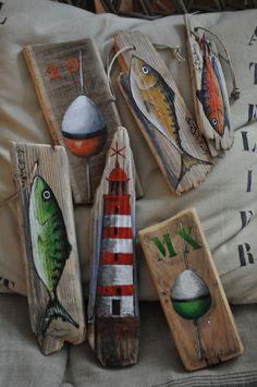 "hatte melo - hatte melo "" hatte melo The Effective Pictures We Offer You About trends logo A qu - Painted Driftwood, Driftwood Beach, Driftwood Art, Painted Wood, Beach Crafts, Diy And Crafts, Arts And Crafts, Deco Marine, Driftwood Projects"
