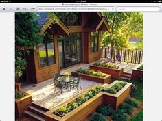 A Patio Deck Design will add beauty to your home. Creating a patio deck design is an investment that will […] Backyard Patio, Backyard Landscaping, Landscaping Ideas, Backyard Layout, Backyard Deck Designs, Small Deck Designs, Deck Layout Ideas, Wood Deck Designs, Nice Backyard