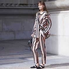 Inna •  Photo by #Dvora #Fashionistable •  www.dvora.photography  #InnaOprin @opr_i_n #PFW #FashionWeek #StreetStyle #Fashion #Mode #Moda #Style #StreetChic #StreetFashion #MBFW #NoFilter