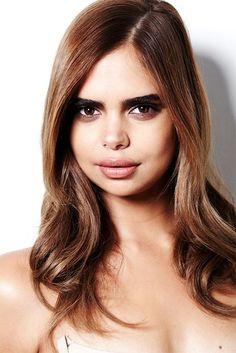 Australian model Samantha Harris