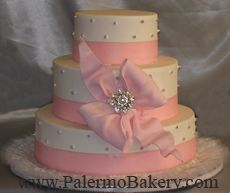 Pink Wedding Cakes, Wedding Cake Picture - Palermo Bakery