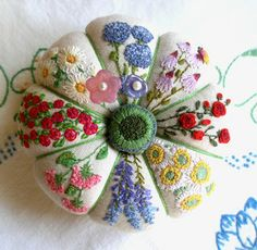 fiberluscious pincushion