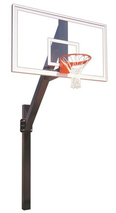 First Team Legend Supreme In Ground Fixed Height Outdoor Basketball Hoop 72 inch Acrylic from NJ Swingsets Backyard Basketball, Portable Basketball Hoop, Outdoor Basketball Court, Basketball Floor, Basketball Goals, Buy Basketball, Basketball Backboard, One Team, Rebounding