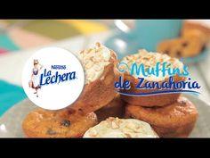 LA LECHERA® - Muffins de Zanahoria - YouTube