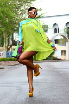 loveafrohair:   Model : Anonymous African designer from Botswana : Ashanti Chique.