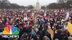 women marches view up- YouTube