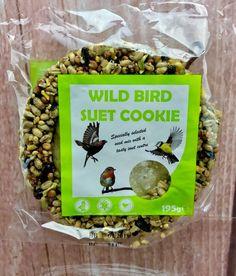 Wild Bird Food Suit Cookie Hangs up Seeds Tasty Suet Centre With Hanger for sale online Wild Bird Food, Wild Birds, Bird Suet, Seeds, Tasty, Cookies, Crack Crackers, Biscuits, Cookie Recipes