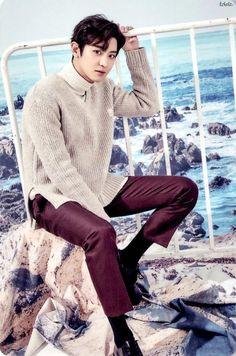 Chanyeol + ocean aestetics = death of millions of fangirls #Exo #Chanyeol