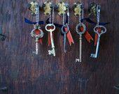 Skeleton key chain from etsy. $26.00