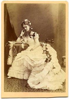 The 1870s Victorian - 1873 Christine Nilsson.