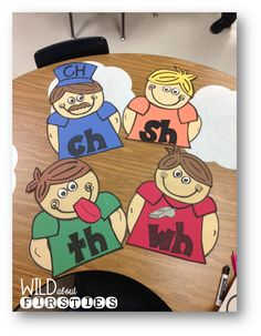 awesome The Digraph Brothers - includes FREE interactive printables Read More by Phonics Reading, Teaching Phonics, Phonics Activities, Kindergarten Literacy, Early Literacy, Teaching Reading, Learning, Phonics Dance, Teaching Ideas