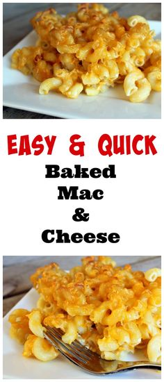 Easy Baked Macaroni and Cheese Recipe - A reader favorite on RachelCooks.com