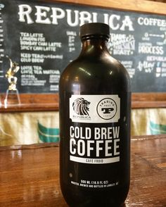 Republica Cold Brew Coffee, from Fort Langley, BC
