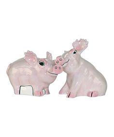 Look at this Safari Pigs Salt & Pepper Shakers on #zulily today!