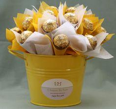 Edible Chocolate Bouquet - Sweet Indulgence