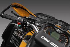 2015 Can-Am Outlander MAX 800R XT-P Handlebar Controls