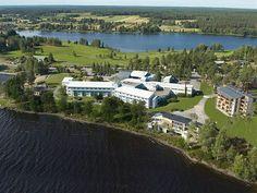 Kivitippu Spa, South Ostrobothnia province of Western Finland. - Lappajärvi Etelä-Pohjanmaa. Finland.