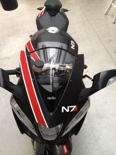 N7 skinned motorcycle submitted by Koen Dijke