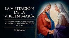 Cada 31 de mayo la Iglesia celebra la Fiesta de la Visitación de la Virgen María a su prima Santa Isabel. Con este mensaje de caridad de la Madre de Dios es que se concluye el mes mariano. https://www.aciprensa.com/noticias/hoy-es-la-fiesta-de-la-visitacion-de-maria-bendita-tu-entre-las-mujeres-46296/