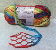 Starbella Ruffle Scarf Yarn by Premier in Fly A Kite by cloverlori, $6.70
