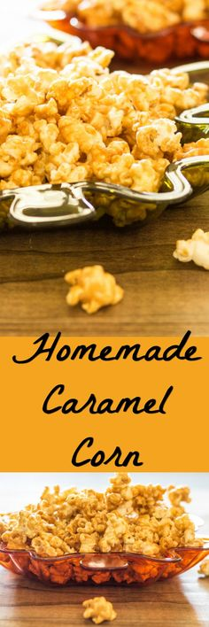 Buttery, sweet, crispy caramel corn. Family favorite that is easy to make at home. Perfect for movie night or game day.
