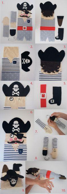 Free Pirate Doll Sewing Pattern