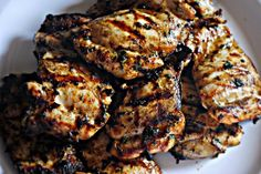 Beer marinated chicken