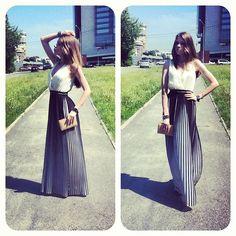 Sisley Favorite Dress, Zara Clutch, Bgn Red Heels