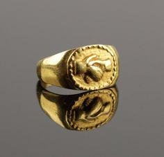 STUNNING ANCIENT ROMAN GOLD WEDDING RING - CIRCA 2ND C AD | eBay