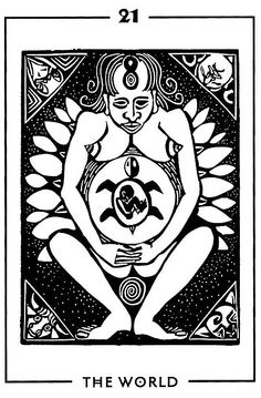 The World - Light and Shadow Tarot by Michael Goepferd and Brian Williams