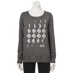 Juniors' Star Wars Death Star Graphic Sweatshirt