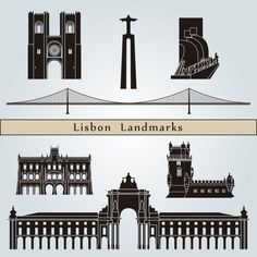 Portugal Vetores de Stock, Ilustrações Vetoriais Free Portugal | Depositphotos® How To Make Tshirts, Portugal, Clipart, Big Ben, Silhouette, Digital, World, Illustration, Architecture