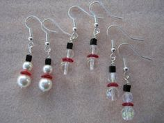 CHRISTMAS EARRINGS  #RePin by Dostinja - WTF IS FASHION featuring my thoughts, inspirations & personal style -> http://www.wtfisfashion.com/