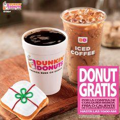 Este viernes 27 recibe un donut gratis por la compra de cualquier bebida fría o caliente. Promoción solo aplica desde las 5:00 a.m. hasta las 10:00a.m en las sucursales de Coste del Este, Calle 50, Punta Pacífica y desde las 7:00a.m. en Albrook.#BlackFriday #DunkinPanamá