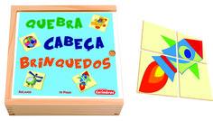 Quebra Cabeça em Madeira Brinquedos