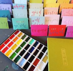 """kali stileman publishing on Instagram: """"How fab do these paints look with the newest 'Tiddly Widdly' collection!? 🎨#tiddlywiddlies #artistspalette #kalistilemanpublishing"""" Palette, Artist, Painting, Collection, Instagram, Palette Table, Painting Art, Pallets, Paintings"""