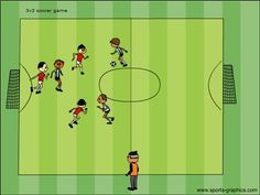 How to eliminate the bunch ball mentality in youth soccer.