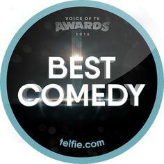 New Telfie App Sticker: Best Comedy #VoTVComedy