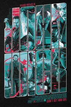John Wick #alternative #movie #posters #art