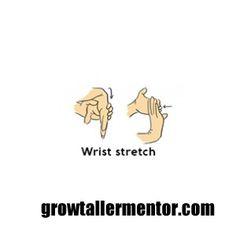 Wrist Stretch - Grow Taller Exercises