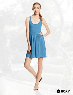 Roxy Juniors Fly Away Fit and Flare Tank Jersey Fit and Flare Dress